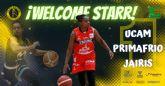 Starr Breedlove refuerza la dirección de juego del UCAM Primafrio Jairis