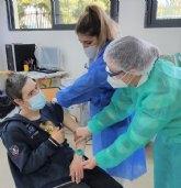 Se inicia la vacunación a grandes dependientes en Cieza