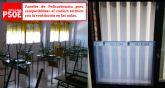 El Grupo Municipal Socialista pide la instalación de Paneles de Policarbonato en las aulas de los Centros Educativos de Totana lo antes posible
