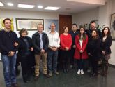 El Ayuntamiento de Molina de Segura recibe la visita de profesores galeses e italianos que participan junto al CEIP Maestro Francisco Martínez Bernal en un proyecto europeo Erasmus+