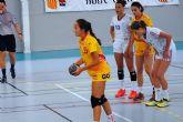 La cartagenera Maria Rebollo, convocada con la seleccion nacional juvenil de balonmano