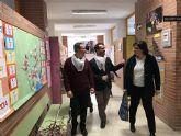 Quema de la Sardina para clausurar la XVIII Semana Cultural dedicada a la Región de Murcia, en el colegio Ntra. Sra. de los Dolores