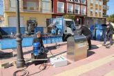 Ponen en marcha contenedores soterrados en Puerto Lumbreras para mejorar la imagen del municipio