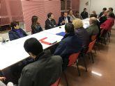 El concejal de Pedanías, Descentralización y Participación se incorpora a las reuniones de distrito para conocer las peticiones de las pedanías