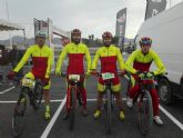 Corredores del Club Ciclista Santa Eulalia participaron en la la I MTB Calas de Bolnuevo