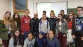 Andres Lledo visita a los alumnos del IES Galileo de Pozo Estrecho dentro del Programa ADE