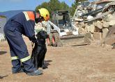 La Unidad Canina de Protección Civil en Totana participa en las III Jornadas Cinológicas de Búsqueda, Rescate y Detección