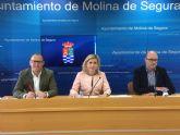 El Plan de Ayudas Económicas Municipales de Molina de Segura ha conseguido en dos años el reconocimiento de derechos sociales y ha impulsado la transparencia y garantía del proceso de adjudicación