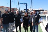 San Pedro del Pinatar acoge al equipo Ineos UK que prepara en el Mar Menor su participación en la Copa América de vela
