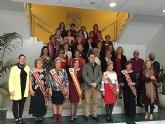 Recepción de las aspirantes a Reina y Damas de la Federación de Centros de Mayores de Murcia