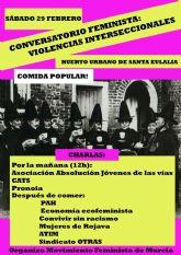 Acciones y actividades programadas en torno al 8M por el Movimiento Feminista de Murcia