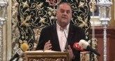 Intervención del Alcalde durante el acto de presentación del cartel anunciador de la Semana Santa 2020