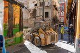 Comienza la ejecución de las medidas cautelares del edificio de las calles Aire y Cuatro Santos