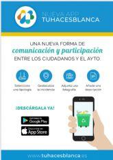 TÚ HACES BLANCA: Nueva aplicación móvil municipal para comunicar incidencias