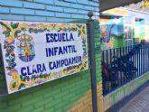 Hasta el 28 de abril se pueden presentar las solicitudes para la admisión de alumnos en la Escuela Infantil 'Clara Campoamor' para el curso escolar 2017/2018