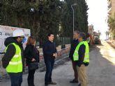 El Ayuntamiento realiza tres obras de renovación urbanística en tres puntos distintos de Santiago de la Ribera afectando a una veintena de calles