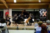 El trio Bacarisse homenajeo a Granados dentro del programa de Entre Cuerdas y Metales