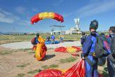 Comenzó en la Base Aérea de Alcantarilla el 50 Campeonato Nacional Militar de Paracaidismo y Torneo Internacional