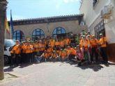 La peregrinacion jubilar de mayores del programa Senderismo Senior llega a Mula