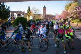 La marcha ciclista La Mobel Sierra Espuña congrega a 400 ciclistas en su segunda edicion
