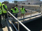 La depuradora de San Javier permite reutilizar el 100 por cien de aguas residuales en agua de calidad para riego