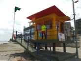 Playas vigiladas en La Manga y Santiago de la Ribera durante la Semana Santa