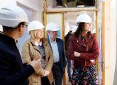 La Fundación Jesús Abandonado avanza en las obras de mejora del Centro de Acogida de Murcia