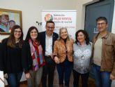El Ayuntamiento de Alhama y la Federaci�n de Salud Mental Regi�n de Murcia firman un convenio por el empleo