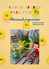 La Concejalía de Cultura de Molina de Segura prepara un sencillo tutorial de manualidades para los más pequeños de la casa bajo el título Pequerías ¡Ha llegado la primavera!
