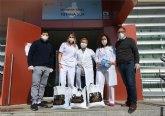 La Hdad. de 'La Cleofé' dona material sanitario al Centro de Salud 'Totana Sur'