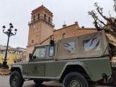 Militares de la BRIPAC apoyan en las labores de control y concienciación en la vía pública y contención de la actividad comercial, junto con Guardia Civil y Policía Local