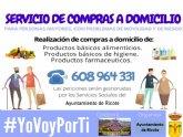 Servicio de compras a domicilio en Ricote