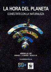 San Pedro del Pinatar se suma otro año más a la iniciativa medioambiental La Hora del Planeta