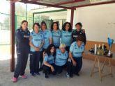 El equipo femenino de petanca de Puerto de Mazarr�n se proclama campe�n regional