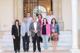 Concejales del PP de Alhama realizaron una visita al Palacio de San Esteban