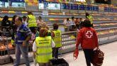 El grupo de Accion Social del Ayuntamiento de Cartagena ha participado con 40 tecnicos en el simulacro del terremoto
