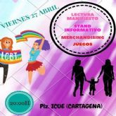 Cartagena realiza un acto en el Icue por el Dia de la Visibilidad Lesbica