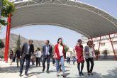 El Ayuntamiento invierte 270.000 euros en cubrir los patios de los colegios públicos