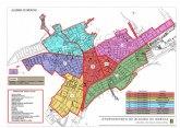 Plano de desinfecci�n diaria del municipio de Alhama por barrios