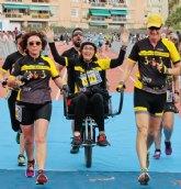 Cieza colabora con 'Zancadas sobre ruedas' para la realización de una ruta inclusiva