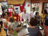 25 celíacos aprenden a cocinar alimentos aptos para su salud gracias al Taller de Gastronomía del Ayuntamiento de Murcia