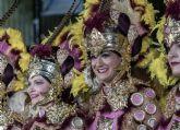 Más participcaión que nunca en el Desfile Parada de ayer noche de moros y cristianos del Corpus de Archena