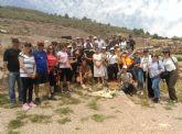 Graduados sociales y economistas participan en talleres de la cultura argárica en el yacimiento de La Bastida