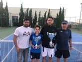 Germán Reinaldos recupera el título de las 12 horas de tenis 'Ciudad de Puerto Lumbreras'