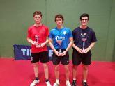 Tres medallas para el Club Tenis de Mesa de Mazarr�n en el Campeonato Auton�mico de Cartagena celebrado el pasado fin de semana