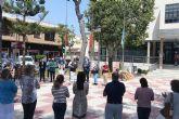 San Pedro del Pinatar se suma al minuto de silencio en memoria de las víctimas del coronavirus