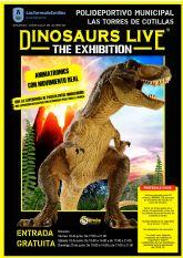 Los dinosaurios eligen Las Torres de Cotillas para volver a pisar la Tierra