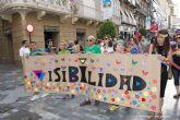 Color, música y baile para reivindicar la visibilidad bisexual en Cartagena