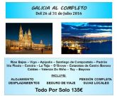 El T-La abre el plazo de inscripción para los viajes a Galicia, Aqualandia y Terra Mítica