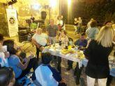 Noche de hogueras entre vecinos con la Coordinadora de Asociaciones de San Antón